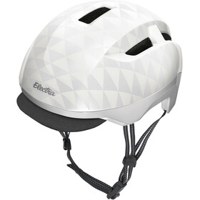 Electra Commute MIPS Helm white triangles